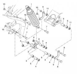 Oryginalne części z serwisówek DERBI OEM PARTS