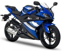 2008 Yamaha YZF-R125 VIVID PURPLISH BLUE