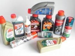 Oleje, płyny, chemia motocyklowa