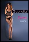 Erotica Strip Panty 153 Czarne S/M