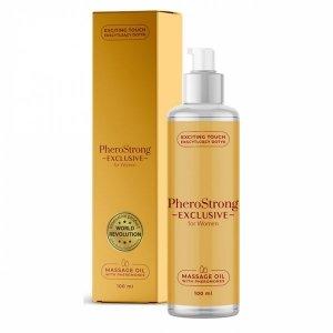 Olejek do masażu 100ml o zapachu Perfum Pherostrong EXCLUSIVE dla Pań 100ml