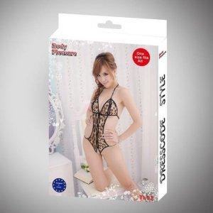 Body Pleasure - Sexy Lingerie Set - one size - leopard TL93