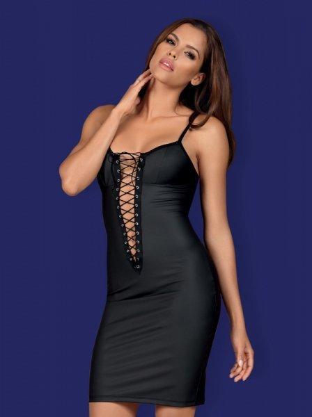 Bielizna-Redella sukienka czarna  S/M