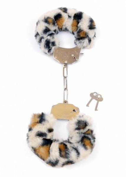 Kajdanki Fetish Boss Series- Furry Cuffs Leopard