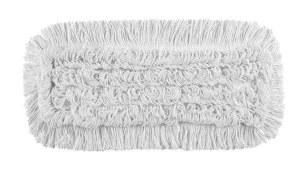 Mop Przesuw bawełna biała linia premium 40cm Pętelkowy