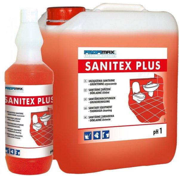 SANITEX PLUS LAKMA - środek do sanitariatów 1l - gruntowne czyszczenie
