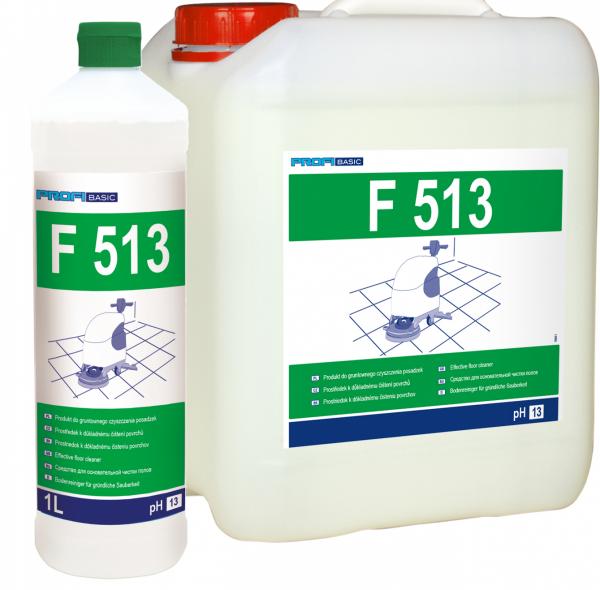PROFIBASIC F513 - gruntowne czyszczenie posadzek 10l