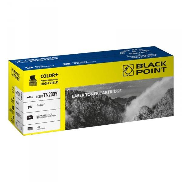 Black Point toner LCBPBTN230Y zastępuje Brother TN-230 Y, żółty