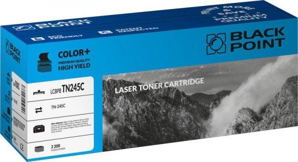 Black Point toner LCBPBTN245C zastępuje Brother TN-245C, niebieski