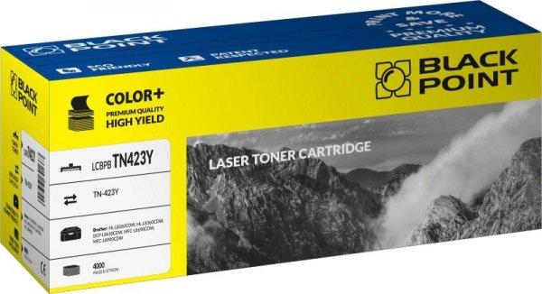 Black Point toner LCBPBTN423Y zastępuje Brother TN-423Y yellow