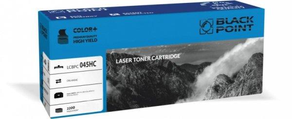 Black Point toner LCBPC045HC zastępuje Canon CRG-045HC cyan