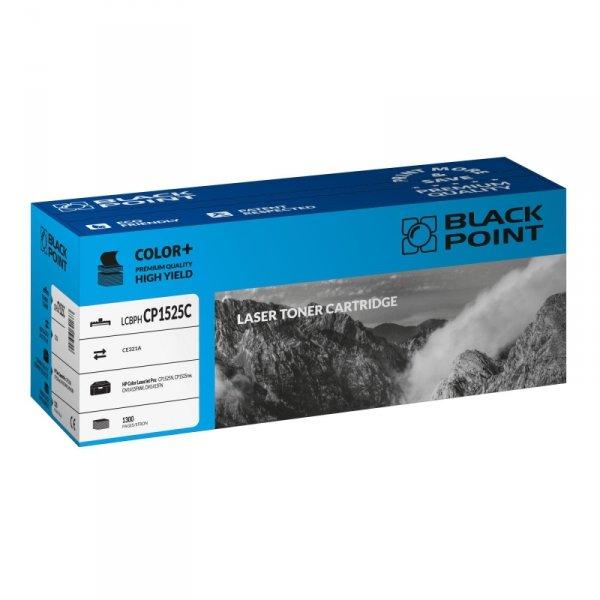 Black Point toner LCBPHCP1525C zastępuje HP CE321A, niebieski
