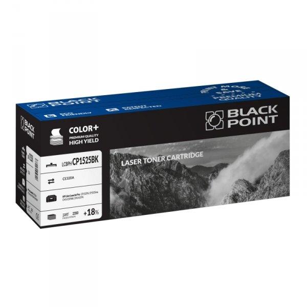 Black Point toner LCBPHCP1525BK zastępuje HP CE320A, czarny