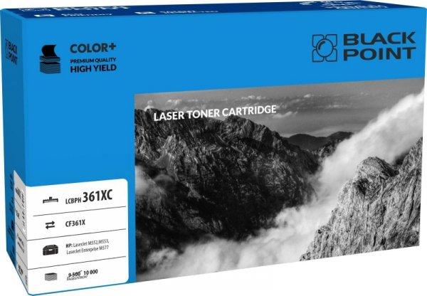 Black Point toner LCBPH361XC zastępuje HP CF361X, cyan