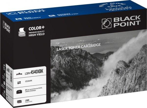 Black Point toner LCBPH4540XBK zastępuje HP CE264X, czarny