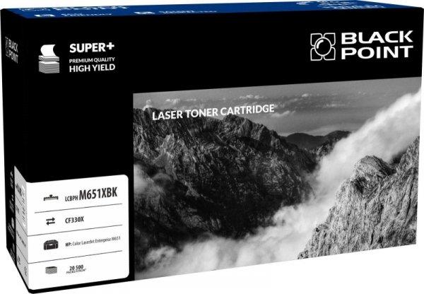 Black Point toner LCBPM651XBK zastępuje HP CF330X, czarny
