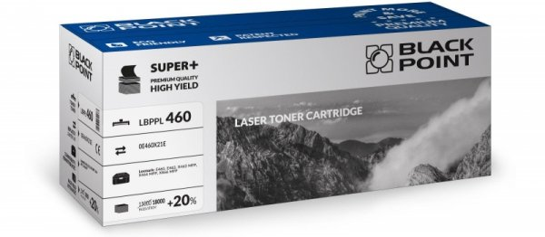Black Point toner LBPPL460 zastępuje Lexmark E460X11E / E460X21E, 18000 stron