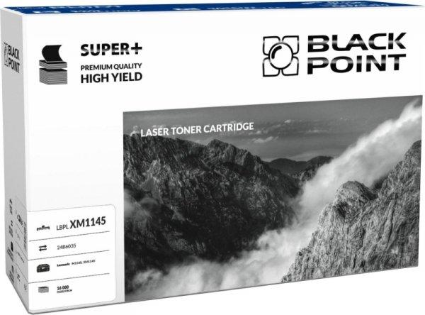 Black Point toner LBPLXM1145 zastępuje Lexmark 24B6035, 16000 stron