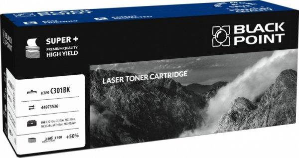 [LCBPOC301BK] Toner Black Point Color (Oki 44973536) black