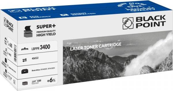 Black Point toner LBPPR3400 zastępuje Ricoh 406522, 5300 stron