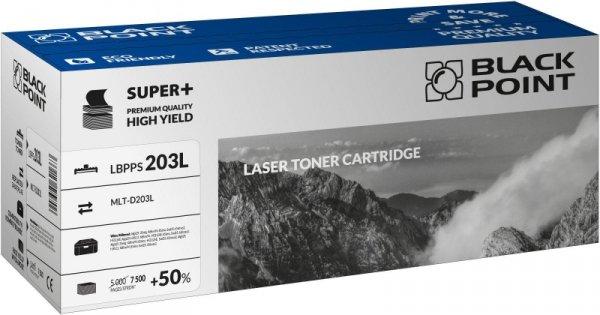 Black Point toner LBPPS203L zastępuje Samsung MLT-D203L, 7500 stron