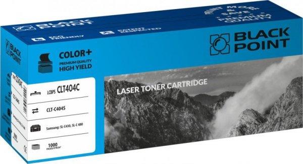 Black Point toner LCBPSCLT404C zastępuje Samsung CLT-C404S, niebieski