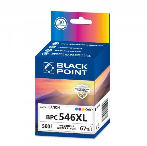 Black Point tusz BPC546XL zastępuje Canon CL-546XL, trójkolorowy