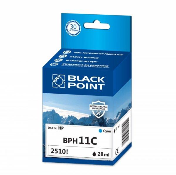 Black Point tusz BPH11C zastępuje HP C4836AE,  niebieski