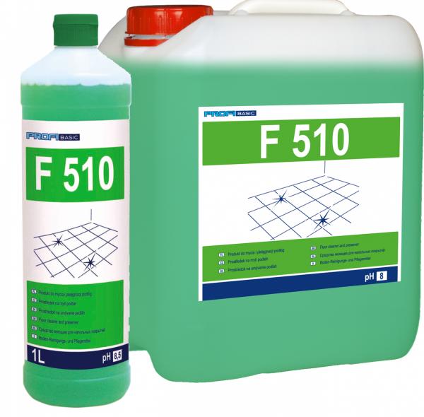PROFIBASIC F 510 - do mycia i pielęgnacji podłóg 1L