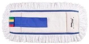 Mop Kombi bawełna biała tuft krzyżowy linia premium   40cm Pętelkowy