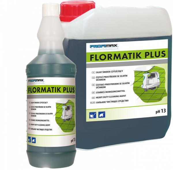 FLORMATIK PLUS - środek do czyszczenia gruntownego NOWOŚĆ! 1l