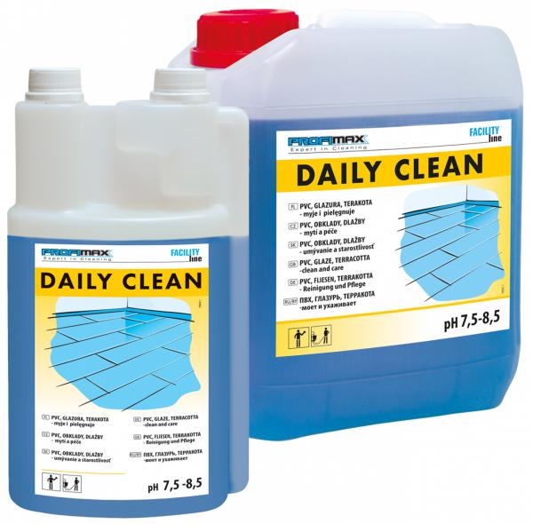 DAILY CLEAN - PVC, GLAZURA I TERAKOTA - do mycia i pielęgnacji 5l