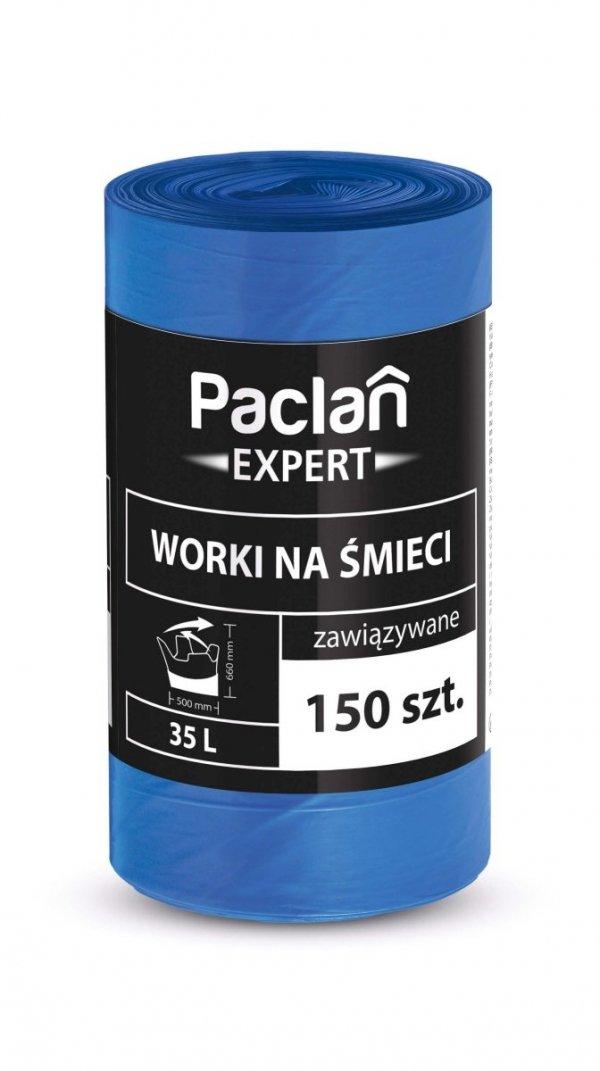Worki na smieci EXPERT Z TASMA 35L 150 szt. PACLAN