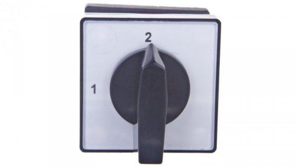 Łącznik krzywkowy 1-2 1P 10A na szynę TH 4G10-54-U S18