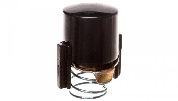 1930 Przycisk do łącznika i sygnalizatora E10 czarny 122501