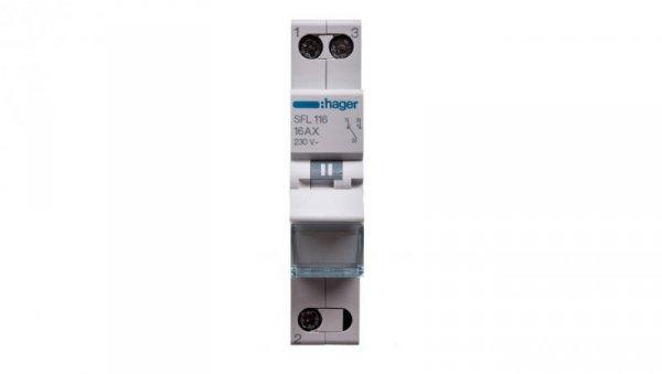 Przełącznik modułowy 1-2 16A 1P SFL116