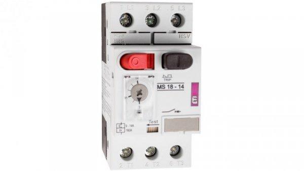 Wyłącznik silnikowy 3P 5,5kW 9-14A MS18 004600350