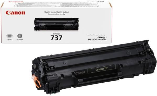 Toner Canon CRG-737 Black