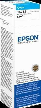 Atrament cyan w butelce 70 ml (T6732) do Epson L800/L850/L800/L850