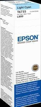 Atrament light cyan w butelce 70 ml (T6735) do Epson L800/L850/L800/L850