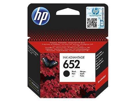 Tusz HP 652 Black
