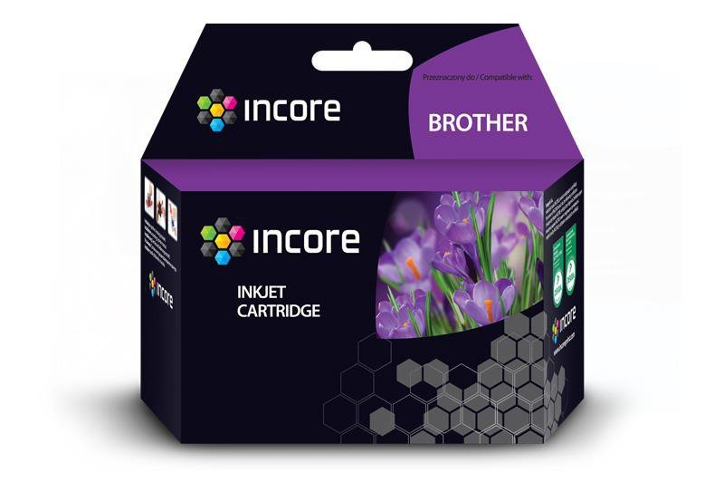 Tusz INCORE do Brother (LC125XL-M) Magenta 15ml reg.