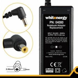 Whitenergy Zasilacz 19V | 4.8A 90W wtyk 5.5*2.5mm    04080