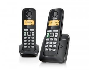 Gigaset GIGASET Telefon DECT A220 DUO  bezprzewodowy