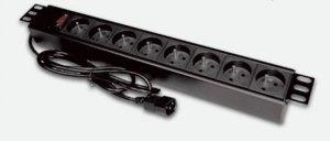 Alantec Listwa zasilająca 19- 9x230V - wtyk UPS - C14