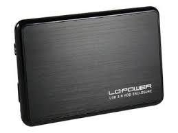 LC-POWER OBUDOWA 2,5 LC-25BUB3 USB 3.0 SATA-600 CZARNA