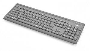 Fujitsu Klawiatura KB410 USB czarna US 104key S26381-K511-L410