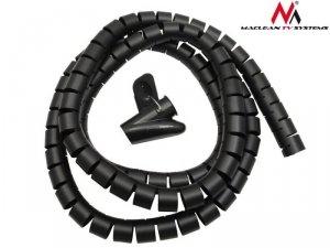 Maclean Organizator maskownica kabli MCTV-676 B black