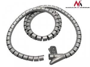 Maclean Organizator maskownica kabli MCTV-676 S silver