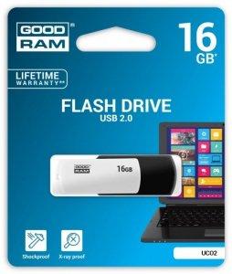 GOODRAM COLOUR BLACK&WHITE 16GB USB2.0
